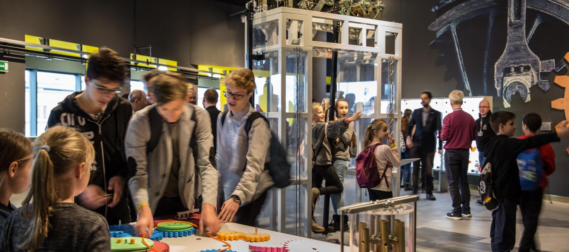 Nowe atrakcje Centrum Nauki i Techniki EC1