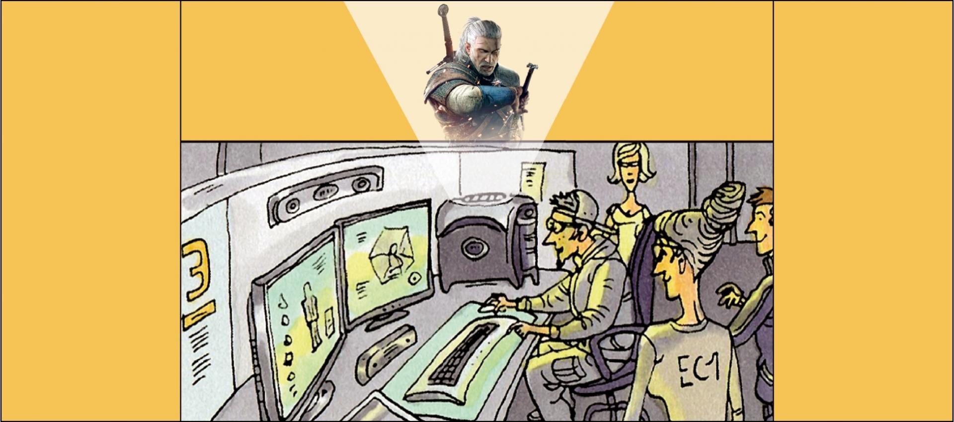 CD Projekt partnerem strategicznym Centrum Komiksu i Narracji Interaktywnej